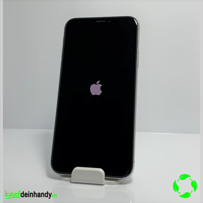 iPhone X 64GB Silber (normal gebraucht)